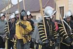 I přes nepřízeň počasí si rekonstrukci Bitvy u Jankova v sobotu 3. března nenechalo ujít značné množství přihlížejících návštěvníků.