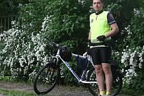 Strážníky na kolech můžete potkat nejen v Brně, ale nyní také ve Vlašimi.