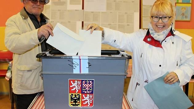 Volby do krajského zastupitelstva - Týnec nad Sázavou okrsek číslo 1