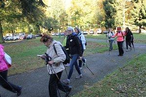 Severskou chůzí podpořili na Konopišti vozíčkáře