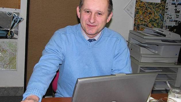 Senátor Karel Šebek.