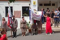 Oslavy 90. výročí pyšelské sokolovny.