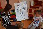 Z projektového dne 'Moje rodina a já' v Mateřské škole MiniSvět v Mrači.