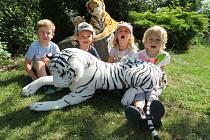Děti z mračské mateřinky MiniSvět zavítaly do džungle.