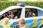 Do mračské mateřinky MiniSvět zavítali policisté.
