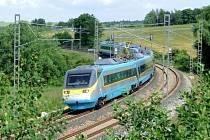 U Bystřice povede z vysokorychlostní tratě odbočka na koridor Benešov - Tábor.