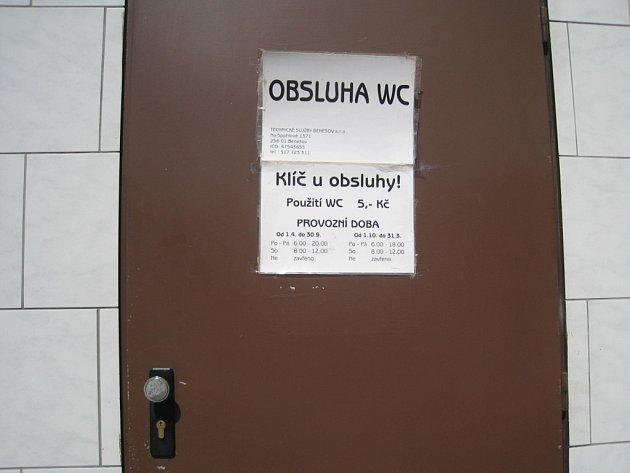 Benešov se už brzy dočká pěkných veřejných záchodů.