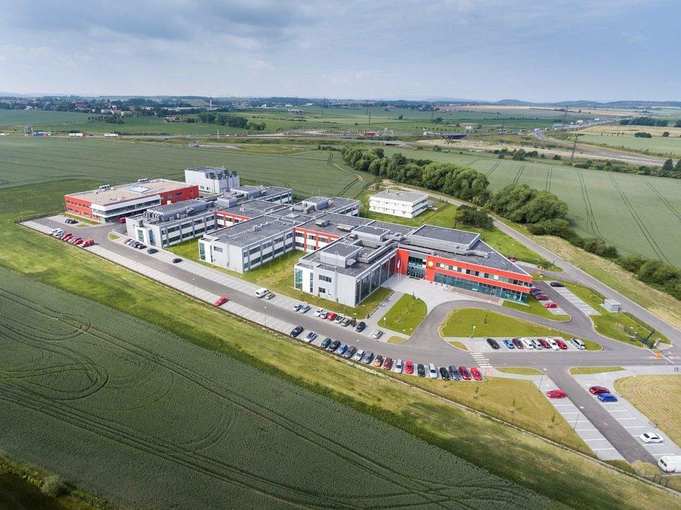 Biomedicínské výzkumné centrum Biocev ve Vestci na Praze-západ.