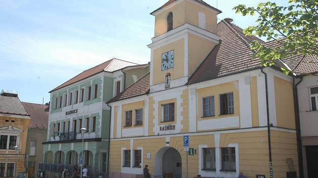 Radnice ve Voticích.
