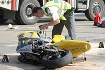 Jízda na motorce se ženě stala osudnou.Ilustrační foto.