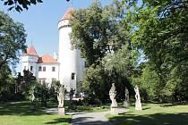 Pamětihodnosti na Benešovsku - zámek Konopiště.