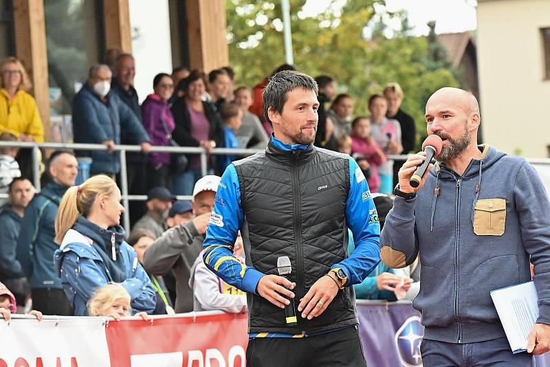 Z Benešovského běžeckého festivalu v neděli 19. září 2021.