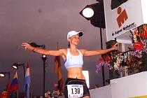 Řadu úspěšných vystoupení má za sebou pětatřicetiletá rodačka z Netvořic Ladislava Císařovská. Mezi ty největší počítá start na triatlonu triatlonů na Havaji