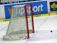 Hokejová branka ilustrační foto