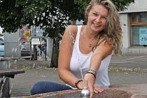 Sabina Ludányiová přijela z Chorvatska a chystá se na splutí Vltavy.