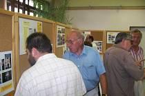 Výstava věnovaná historii Vlašimské brány zaujala především střední a starší generaci