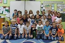 Základní škola Jiráskova v Benešově: třída 1.A s učitelkou Janou Marešovou.