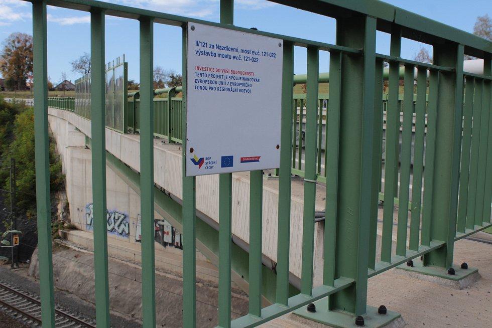 Most u Nazdic (na snímku) těžké dopravě odolává, opravit je ale nutné most u Beztahova.