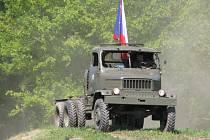 Pocta vozidlu Praga V3S ve VTM Lešany.