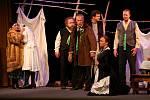 Divadelní představení Její pastorkyňa Divadelního festivalu Voskovcova Sázava.