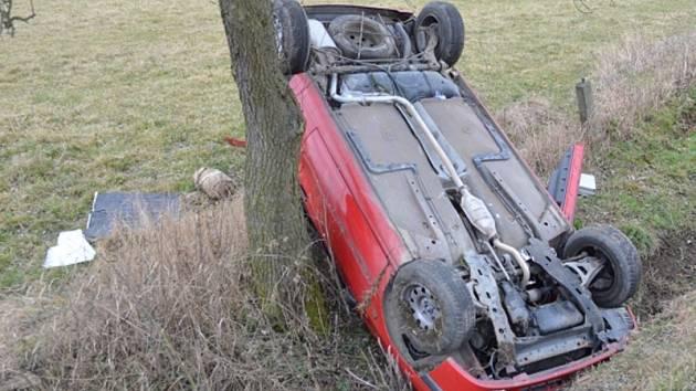 Dopravní nehoda se obešla bez vážnějších následků.