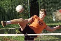 Blok dorostence Petra Chejna byl pro hráče pražského Startu velkou překážkou.