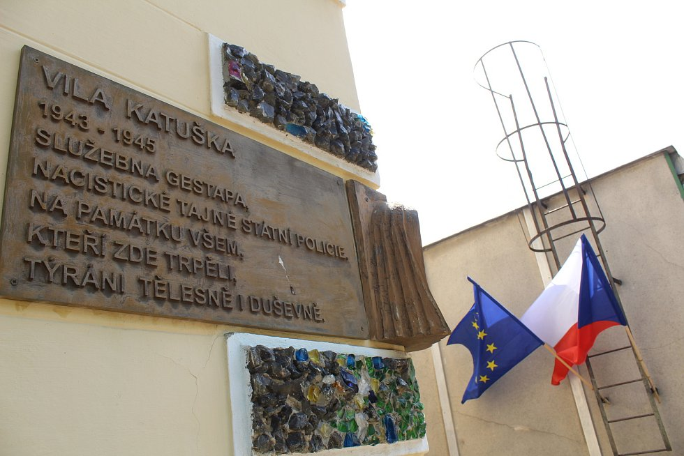 Volby do Evropského parlamentu v benešovském okrsku číslo 12 ve vile Katušce.