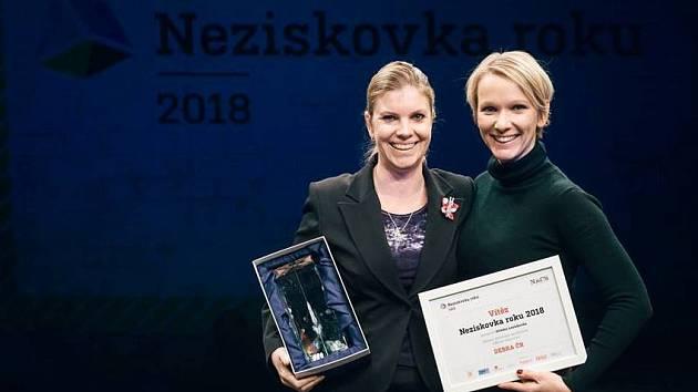 Z vyhlášení Neziskovka roku 2018.