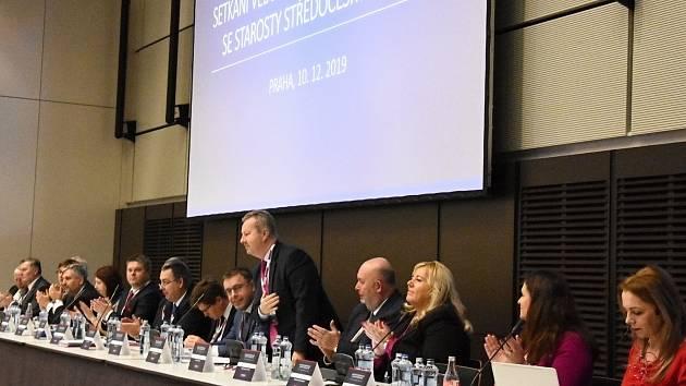 Z pořadí již šestého setkání vedení Středočeského kraje se starosty a primátory.