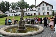 Svatba Jiřího Mašaty a Hany Machové.