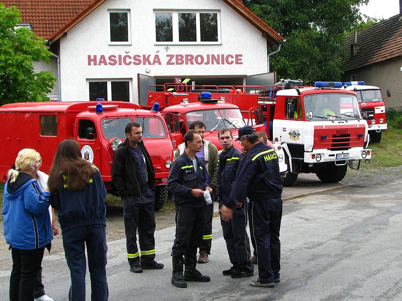 Oslava 120. výročí Sboru dobrovolných hasičů v Mrači.