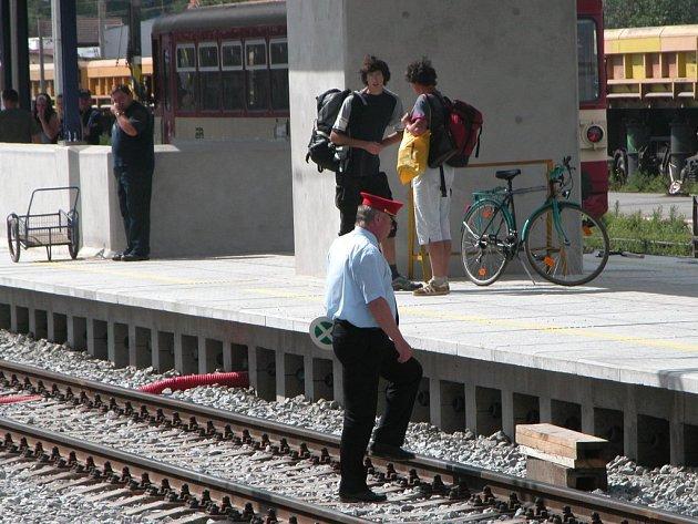 Rekonstrukce kolejiště benešovského nádraží skončí ještě letos
