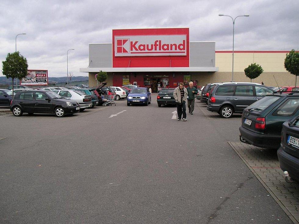 Kaufland v Benešově.