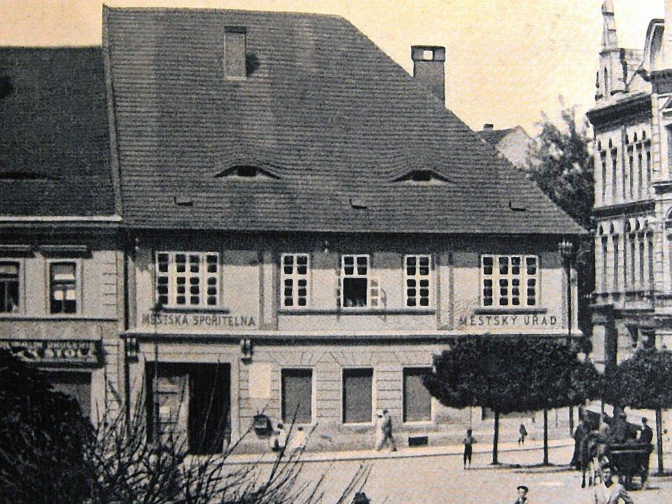 Tak vypadlo Velké náměstí v roce 1920.