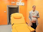 Nové porodní boxy v porodnici benešovské Nemocnice Rudolfa a Stefanie.