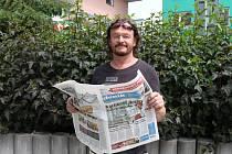 Michal Brož, ambasador Benešovského deníku