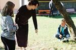 Z návštěvy Církevní základní a mateřské školy Archa v Petroupimi na Benešovsku.