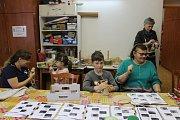 V DDM Benešov byla akce Vánoční tvoření z pedigu