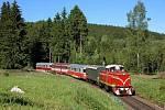 výletní vlak, ilustrační foto