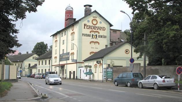 Táborská ulice v Benešově.