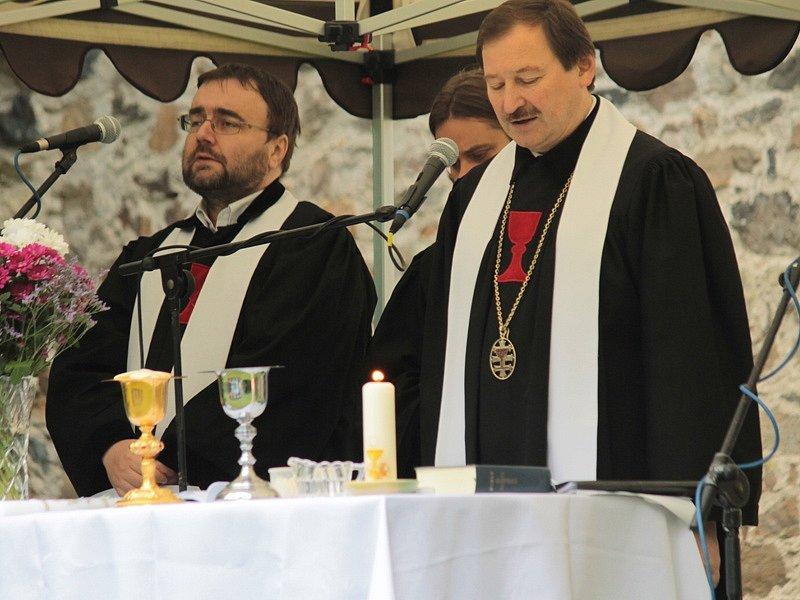 Prokopská pouť v Sázavě k 600. výročí Jana Husa.