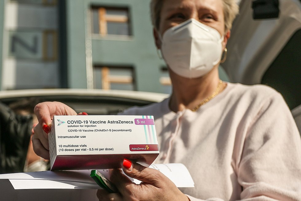 Distribuce vakcíny AstraZeneca. Ilustrační foto.