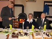 Diamantovou svatbu oslavili manželé Střelkovi ve vranovském kostele spolu se svou rodinou i známými.
