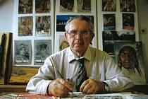 Vyznavač skautingu a spisovatel Jaroslav Foglar.