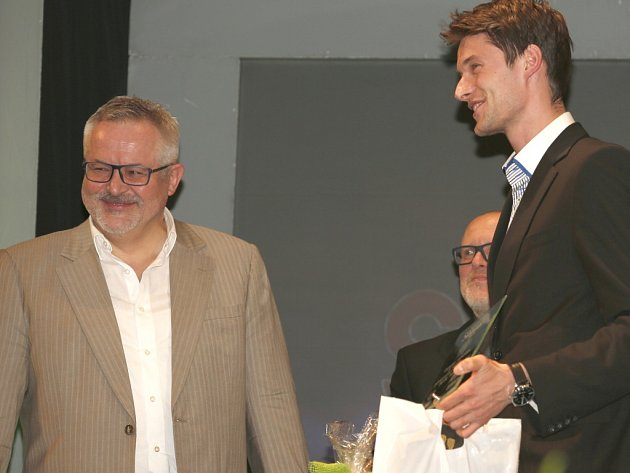 Vyhlašování výsledků ankety Nejúspěšnější sportovec Benešovska 2015.