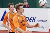 Sedmnáctiletý talent benešovského Šacungu Petr Chejn zatím v letošním ročníku extraligy neprohrál zápas. Na debaklu Jihočechů se podílel dvěma body.