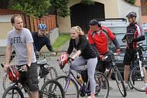 Blanický cyklorytíř 2016 startoval v Louňovicích pod Blaníkem.