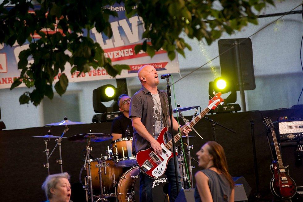 Z multižánrového festivalu Benešov City Live.