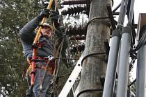 Terénní pracovník energetického gigantu ČEZ