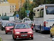 Přivaděč vody z Javorníka do Benešova dorazil už do ulice Karolíny Světlé.